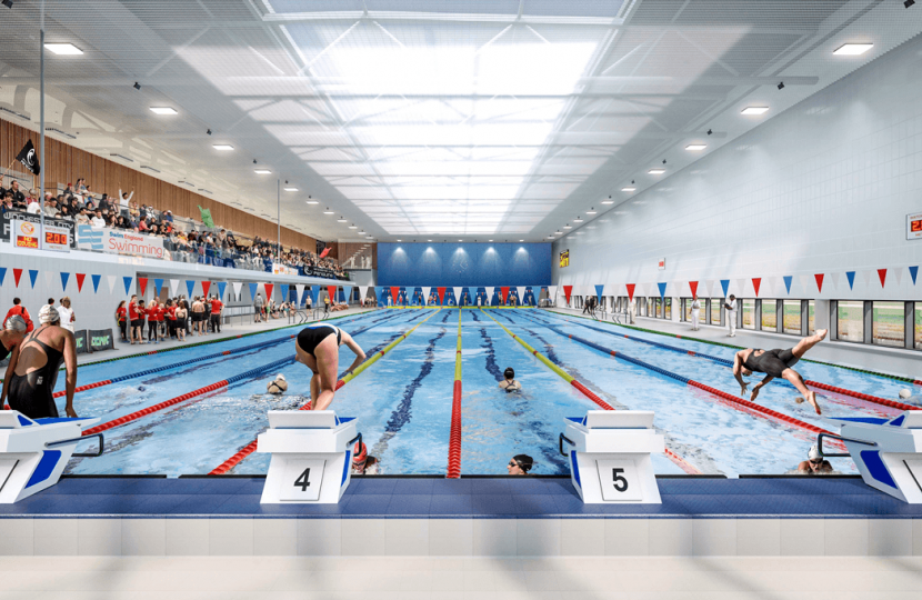 Winchester Sport & Leisure Centre pool